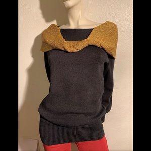 Vtg 80's Designer Sweater by ANN CARON